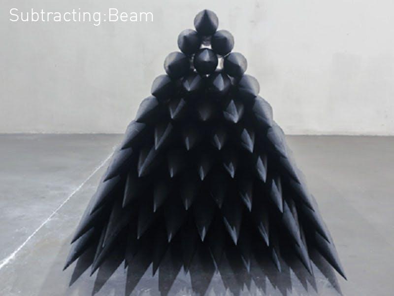 Subtracting Beam 2 by Yang Mushi