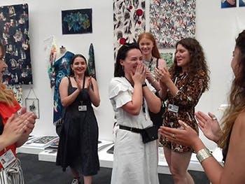 New Designers Tasha Warren win