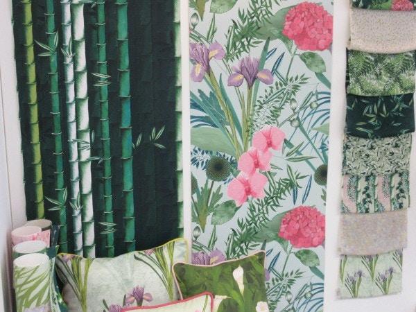 textile design wallpaper cushion material design
