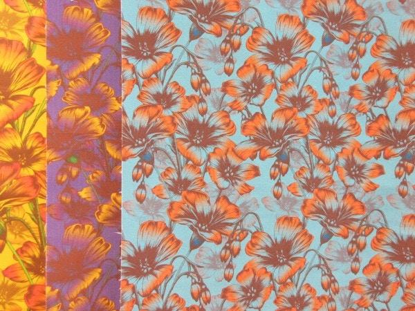 textile design material wallpaper flower design