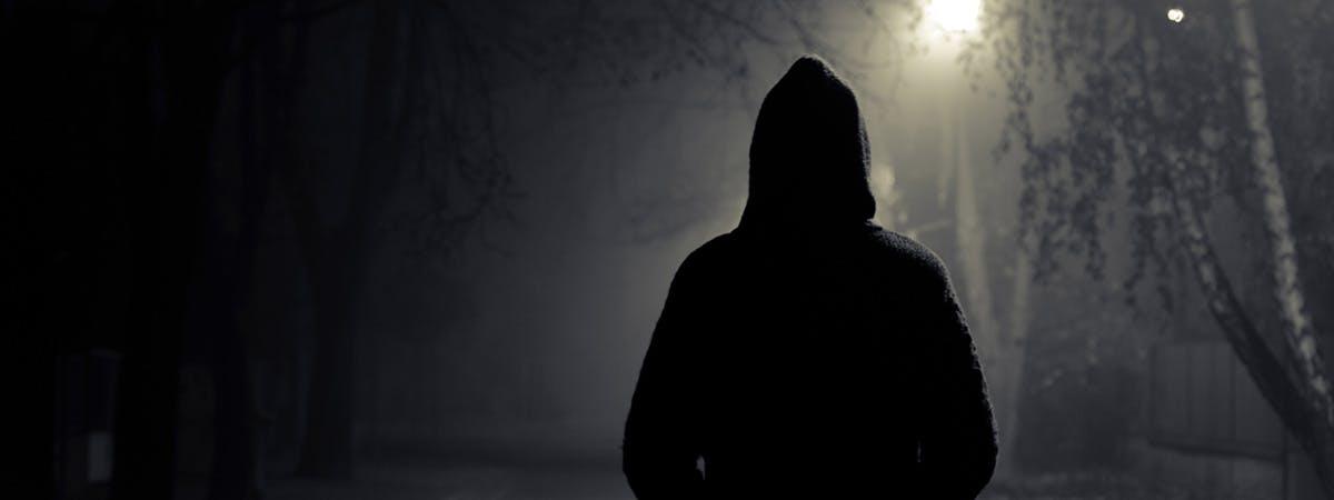 The Dark Flaneur 1200x450 - Man in silhouette