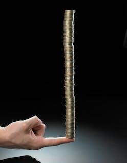 CEIG - Pound Coin Stack