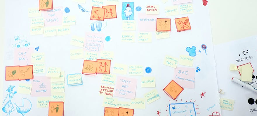 Post-it notes - trend forecasting