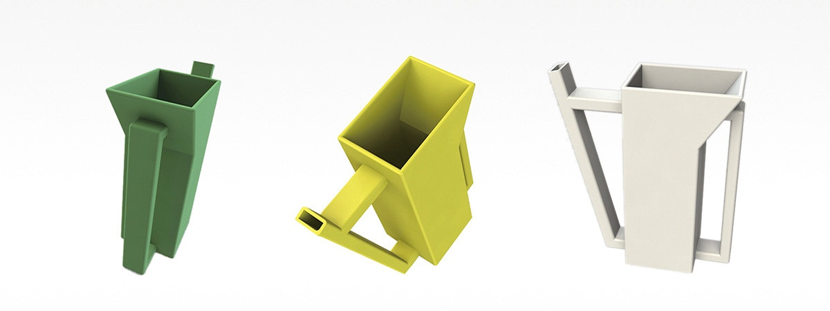 BCU 3D Design of a watering can.