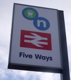 Five Ways Sign