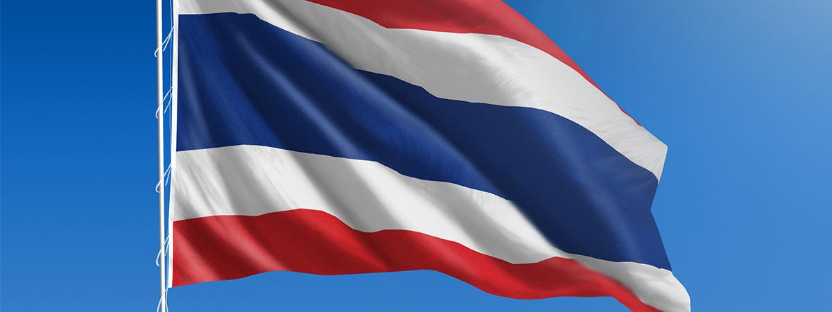 Flag of Thailand, part of the UPR Project at BCU.