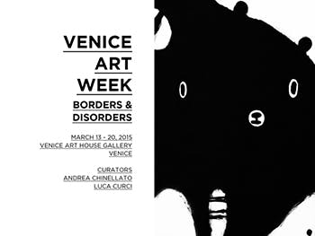 Venice Art Week poster