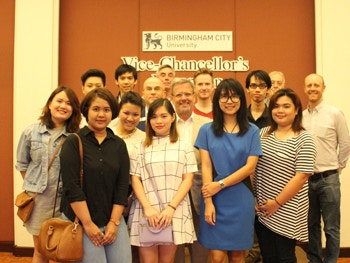 Vice Chancellors Reception in Bangkok