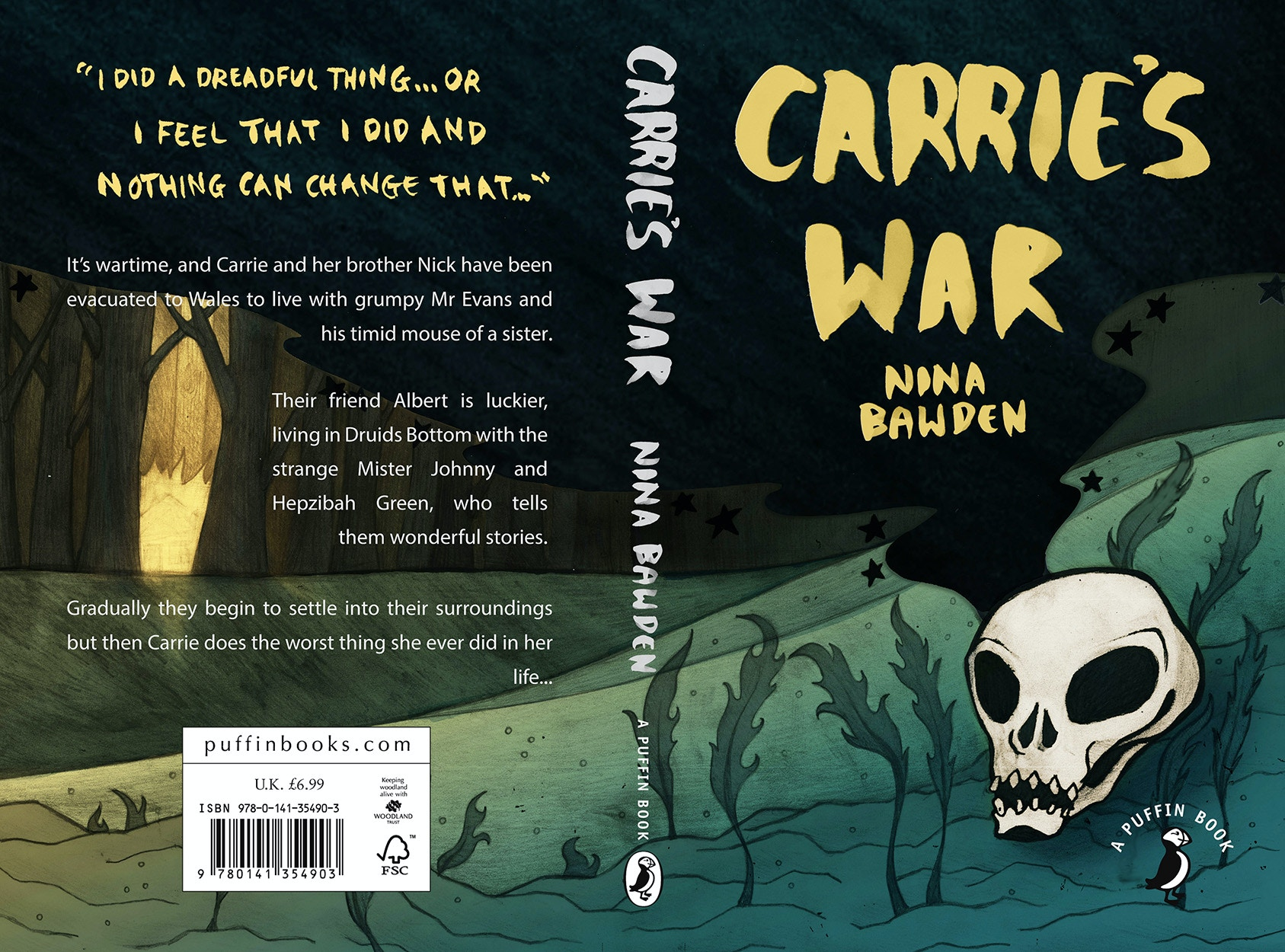 Carrie's War Penguin Design Awards Competition 2015