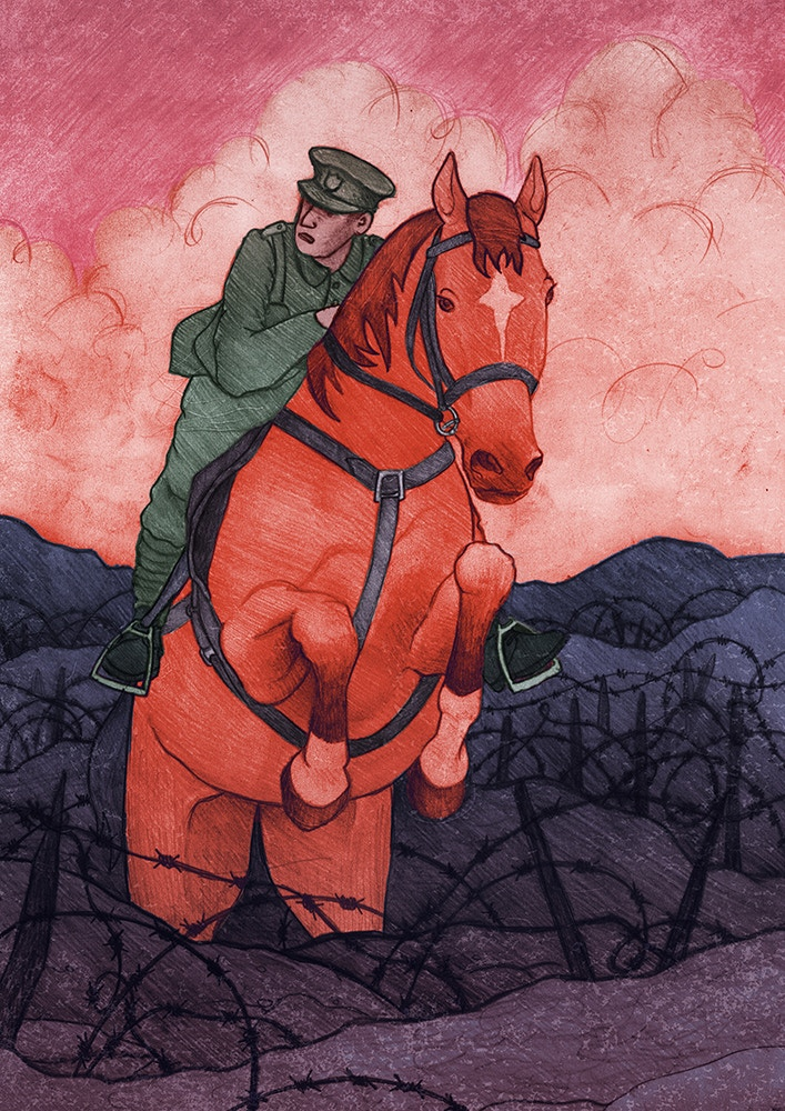 War Horse House of Illustration Competition