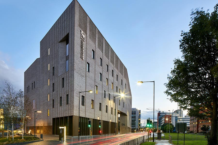 Royal Birmingham Conservatoire from the North East
