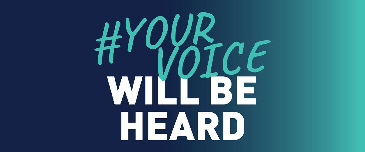 Your Voice Will Be Heard